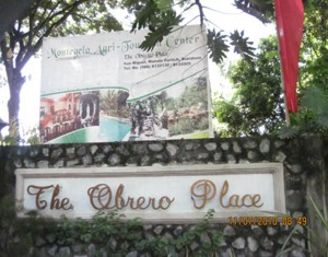 The Obrero Place