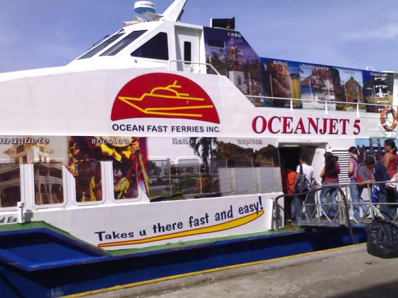 oceanjet2 Ocean Jet Schedule and Rates Of travel
