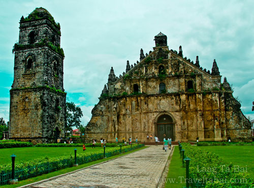 Ilocos Norte Paoay Church Laoag City Travel Family Travel Family