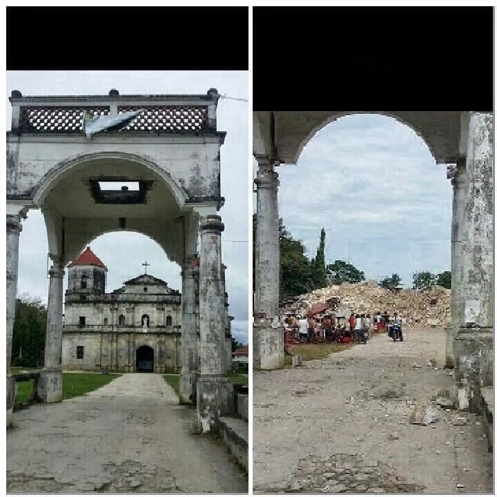 best tourist destinations in the Philippines, Heritage of Bohol, EarthQuake Bohol, EarthQuake CebuX 7.2 magnitude earthquake, Philippine tourist attractions