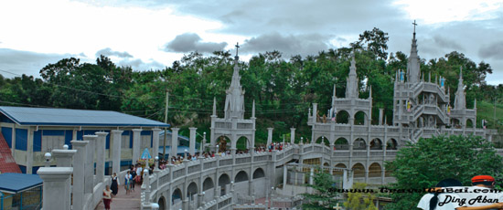 Simala Shrine, Simala church, Simala Shrine in Sibonga Cebu