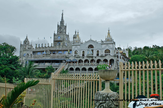Simala Shrine, Simala church, Simala Shrine in Sibonga Cebu